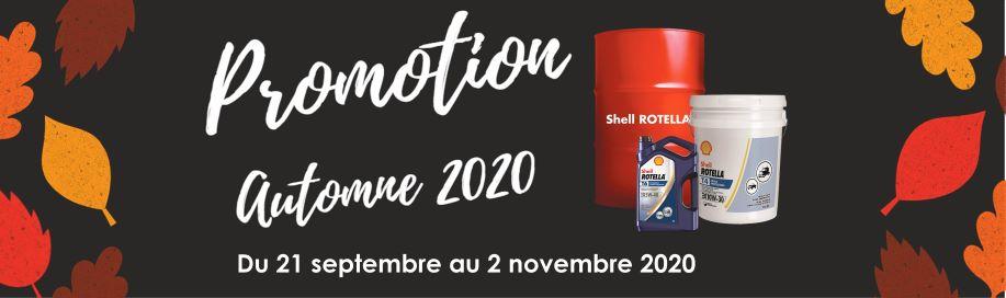 Promotion automne - 2020