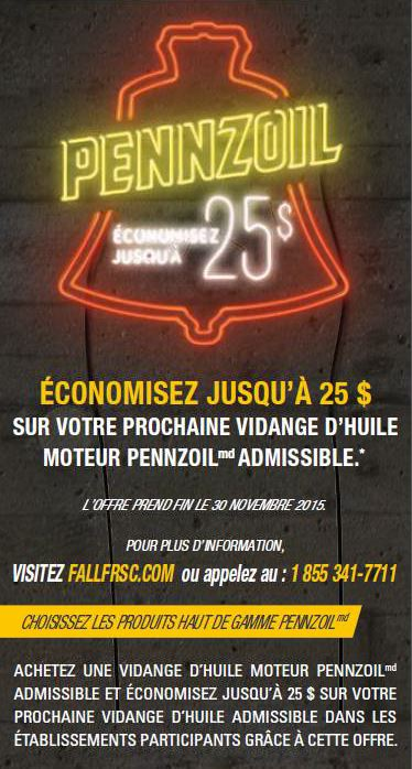 flyer promo croisee - Automne 2015