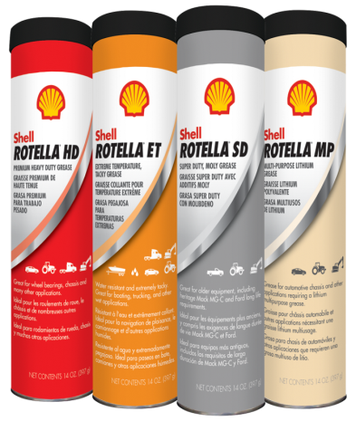 Shell Rotella greases
