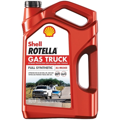Rotella Gas Truck oil
