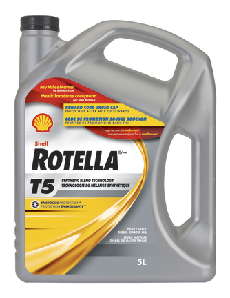 Bouteille Rotella T5
