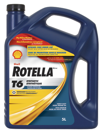 Promotion Rotella T6 5L